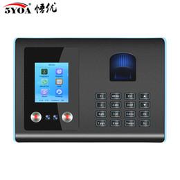 Venta al por mayor de Máquina de dispositivo de sistema de asistencia de tiempo de reconocimiento de huellas dactilares faciales biométricas AF01