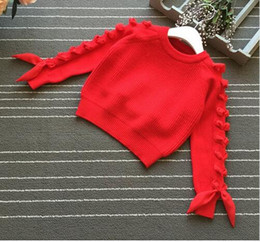$enCountryForm.capitalKeyWord Australia - Girls Sweater Autumn Winter Kids Girls Clothes Woolen Cotton Toddler Cardigan Kids Knitted Clothes Sweaters For