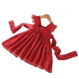 $enCountryForm.capitalKeyWord UK - Girls Sleeveless Lace Polka Dot Princess Dress Summer party tutu dresses Baby children's birthday dress costumes kids clothing 2-6 years