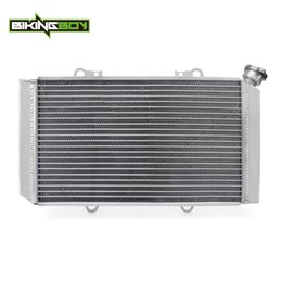 atv engines Australia - BIKINGBOY Aluminium Core ATV Quad Engine Radiator Cooler Water Cooling for YAMAHA Grizzly 660 Grizzly660 02-08 2003 04 05 06 07