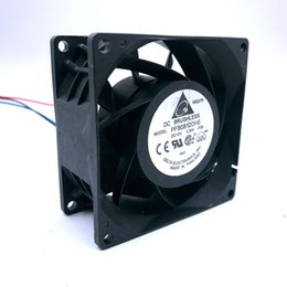 8cm 12v fan UK - Brand new Delta PFB0812DHE -F00 12V 3.3A 8CM high speed automotive supercharger conversion fan violence 80 * 80 * 38mm