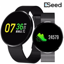 Heart rate monitor watcH calories online shopping - For apple iphone CF006H Smart Bracelet watch LCD Color Screen Sports Pedometer Calories Fitness Tracker Heart Rate Monitor pk fitbit id115
