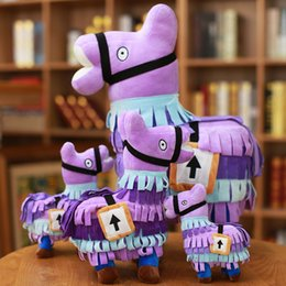 $enCountryForm.capitalKeyWord Australia - 20-58cm Fortress Night Hot Game Plush Toy Troll Stash Llama Soft Alpaca Rainbow Horse Stash Stuffed Toys Kids Birthday Gift