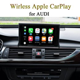 Cellphone Keys Australia - Cellphone Wireless WiFi CarPlay Activation for AUDI Q5 8R MMI 3G Color Display Car Original Key   Knob Control