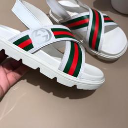 e2fc4d89 Sandalias para niños Zapatos de playa Nuevas sandalias para exterior  europeas y americanas Estilo romano Verano para niños Suela blanda  Antideslizante ...