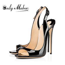 $enCountryForm.capitalKeyWord Australia - Women's Peep Toe Thin High Heels Pumps Sandals Gold Ladies Shoes 12cm Heels open toe fashion female heel shoes Plus size