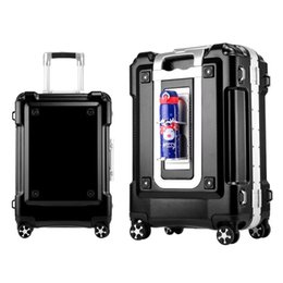 Steady Carrylove 20 24 28 Inch Spinner Hard Travel Suitcase Kinder Koffer Aluminium Frame Trolley Luggage On Wheels Rolling Luggage
