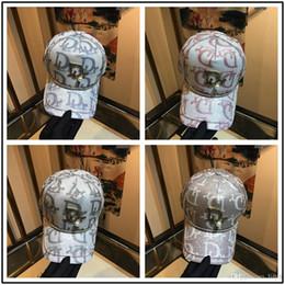 $enCountryForm.capitalKeyWord Australia - Wholesale new Newest Unisex Brand Big Logo G Gc Bee Classical Men Women Baseball Hat Men Fashion Caps Gorro Boy Casual Ski Girls Skull Caps