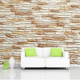 kids room wallpaper 3d UK - Custom Size 3D Photo Wallpaper Living Room Mural Stone Wall 3D Picture Painting Sofa TV Backdrop Mural Home Decor Creative Hotel Wallpaper