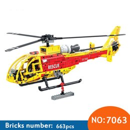 $enCountryForm.capitalKeyWord Australia - Winner 7063 Technic Helicopter building blocks DIY Educational Bricks toys for children Boy Game Kids toys gifts 663pcs