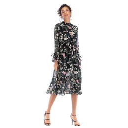 $enCountryForm.capitalKeyWord UK - Women's New Long-sleeved Lace Chiffon Skirt Long Paragraph Large Floral Dress Female Fashion Trend Popular jooyoo