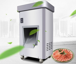 steel shredder machine UK - 2200W Stainless steel commercial electric meat cutter SLICER SHREDDER dicing machine high-power automatic meat cutter LLFA