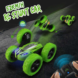 $enCountryForm.capitalKeyWord Australia - wholesale RC 4WD 2.4GHz High Speed Remote Control Off-road Toy 360Degree GR Rotate Stunt Car Double Motors Drive Bigfoot Cars Vehicle