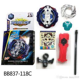 $enCountryForm.capitalKeyWord NZ - 4D Beyblade Burst BB837-118C random booster gyro Vol.11 Vice Leopard With Sword Launcher Anime Toy Gifts For Kids bayblade burst arena