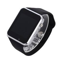 Bluetooth Smart Watch Sim Australia - A1 WristWatch Bluetooth Smart Watch Sport Pedometer with SIM Camera Smartwatch For Android Smartphone Russia Black