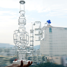 $enCountryForm.capitalKeyWord Canada - Big Glass Water Pipe Dab Rigs Rocket Honeycomb Percolator Beaker Bongs 18inch Ice Catcher Recycler Bubbler Oil Rigs Ash Cacher Quartz Banger