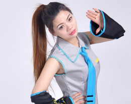 $enCountryForm.capitalKeyWord Australia - Hatsune Miku costume COSPLAY Hatsune clothing cosplay costume style fashion, fabric comfort, heartbeat is not as good as action.