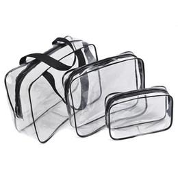 $enCountryForm.capitalKeyWord UK - PVC Transparent Outdoor Sport Trainning Bag Waterproof Towel Cloth Key Card Bag Case Bottle Phone Holder Train Bags