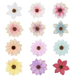 $enCountryForm.capitalKeyWord UK - artificial flower silk daisy flower head for wedding party home decoration DIY wreath gift box scrapbook craft