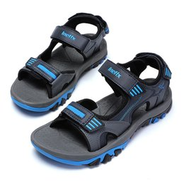Quality Beach Wraps Australia - men sandals factory Wholesale shoes 2019 new summer men open-toed non-slip slippers male style beach shoes high quality sports sandals