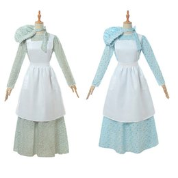Historical dress online shopping - Dress cosplay Womens American Historical Clothing Prairie Colonial Dress