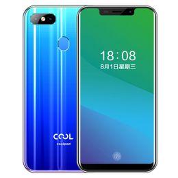"Venta al por mayor de Coolpad original Cool Play 7 4G LTE teléfono celular 4 GB de RAM 32 GB 64 GB ROM MT6750 Octa Core Teléfono 13 MP Face ID móvil de pantalla completa androide 5.85"""