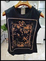 $enCountryForm.capitalKeyWord Australia - Womens Designer T Shirt Fashion Womens Clothing Top tees Sleeveless Women Brand Designer Shirts Tees ST40