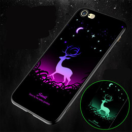 Iphone Silicone Case Dhl Australia - Noctilucous Cell Phone Cases Silicone Case Soft 10 Colors For Iphone XS MAX XR X 7 8 Plus Huawei OPPO VIVO Xiaomi DHL