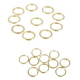 abd7d6bb0 20pc 25/20 mm latón partidos divididos anillos de la cadena encantos de la  bolsa broche de bucle hallazgos DIY