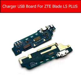 Connector Plus Australia - USB Charging Dock Connector Board For ZTE Blade L5 Plus L0510 Charger Jack Port Board Flex Cable Replacement Parts