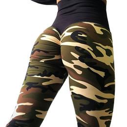 $enCountryForm.capitalKeyWord Australia - Women Leggings Camouflage Printed Legging High Waist Sportswear Leggins Femme Elasticity Wrinkle Leggings 4Color