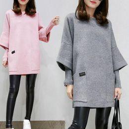 $enCountryForm.capitalKeyWord Australia - Women Shirts Long Sleeve Sweaters Fake Two Pieces Tops Tee Fashion Patchwork Back Strap Split Design Tops For Girls