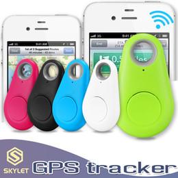 Ingrosso Otturatore anti-perso di Selfie del cercatore chiave dell'iPag dell'allarme di Bluetooth 4.0 Mini GPS Tracker con Pakcage al minuto