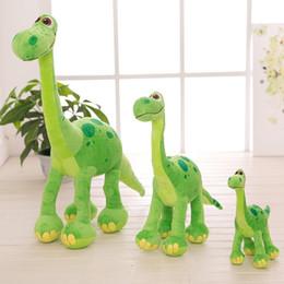 Dinosaur Cartoon Movie Australia - 30cm 50cm 70cm Height Pixar Toys cartoon Movie Good Dinosaur Arlo Spot Stuffed Animal Plush Doll Figure Birthday for children