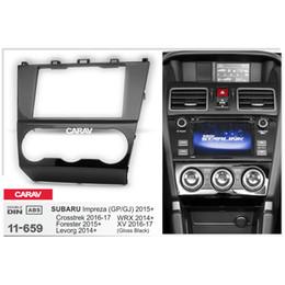 Radio fascias online shopping - CARAV Car Radio Fascia Panel for Forester Impreza Levorg WR Stereo Fascia Dash CD Trim Installation Kit