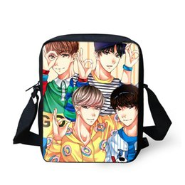 9da1cafa89 3D Anime Bts Bangtan Boys Men Mini Messenger Bag Girls Ladies Shoulder Bags  Kpop Idol Women Crossbody Bag Kid Gift Drop Shipping