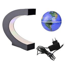 $enCountryForm.capitalKeyWord Australia - C type 4 inch magnetic suspension globe Creative gift crafts new strange home decoration,Touch switch