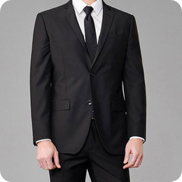 New latest desigN coat paNt online shopping - Formal Business Black Men Suits Man Blazers Jacket Latest Coat Pant Designs Costume Homme New Fashion Slim Fit Male Wear Three Pieces