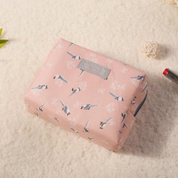 Cute Waterproof Bag Australia - New travel wash bag waterproof fashion cotton cosmetic bag Korea mini cute cosmetic storage bag wholesale