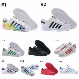 2019 hot Fashion mens Casual shoes Superstar smith stan Female Flat Shoes Women Zapatillas Deportivas Mujer Lovers Sapatos Femininos 36-45 from circles car suppliers
