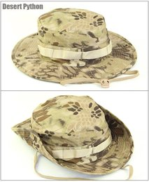 fitted tactical hats UK - Jungle Bucket Bonnie Hat Tactical Gorras Special Forces Military SWAT Sniper Hunter Fisherman Fishing Camouflage Jungle Hat CS