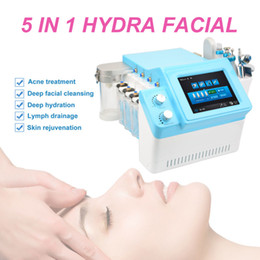 used microdermabrasion machines Australia - 2019 Free shipping!! 5 in 1 hydro microdermabrasion oxygen spray beauty machine skin rejuvenation for spa salon beauty use