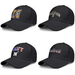 cute animal logos Canada - Maryland Navy Midshipmen football logo black mens and womens baseball cap cool designer custom sports fashion cute best classic hats