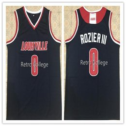 9beb1de55b5 Retro Top  0 Terry Rozier III Louisville Cardinals college basketball  jersey Customize all size Sewn Stitched XS-6XL vest Jerseys Ncaa