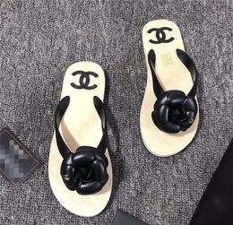 $enCountryForm.capitalKeyWord Australia - New Fashion Women's Casual sandals Leathe Beach shoes flip-flops sliipers woman peep toe sandals C85645
