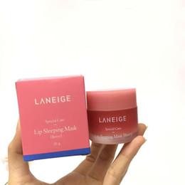 Female lips online shopping - Laneige Special Care Lip Sleeping Mask Moisturizing Anti Aging Anti Wrinkle LZ Lip Care cosmetic J2091