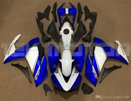 motorcycle fairings for yamaha Australia - Hot sales New ABS Motorcycle Fairing kits Fit For YAMAHA R3 R25 2014 2015 2016 2017 2018 2019 Bodywork set Free custom Blue White Cool