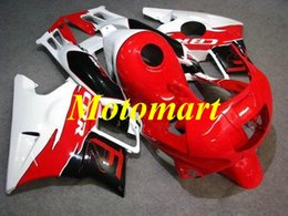 Honda Cbr F2 Red Fairings Australia - Motorcycle Fairing kit for HONDA CBR600F2 91 92 93 94 CBR 600 F2 1991 1994 ABS White hot red Fairings set+gifts HF09