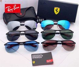 $enCountryForm.capitalKeyWord UK - 2016 Men Designer Luxury Sunglasses UV PolarizationFashion Women Sunglasses Vintage Metal Sport aviators Sun Glasses High Quality With Box