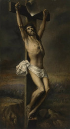 $enCountryForm.capitalKeyWord Australia - Gustave Dore Christ on the Cross Giclee High Quaity Handpainted & HD Printed Art On Canvas Oil Painting Wall Art Picture Home Decor